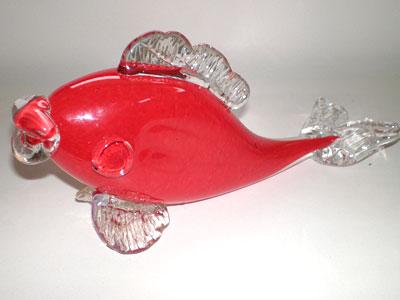 La petite verrerie nos cr ations patrick kimbert for Prix poisson rouge